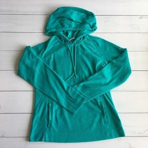 Columbia Teal Fleece Pullover Sz M